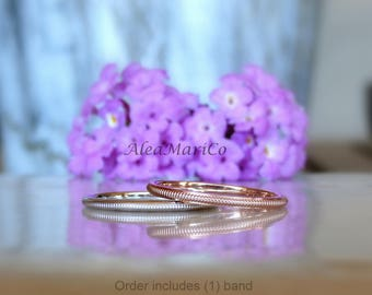 Milgrain Wedding Band | 14kt | Made To Order