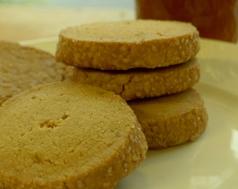 Ginger~Honey~Cardamom Shortbread
