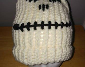Skeleton hat, skeleton beanie, fall accessory, Halloween accessory, adult beanie, adult hat, child beanie, child hat, acrylic yarn