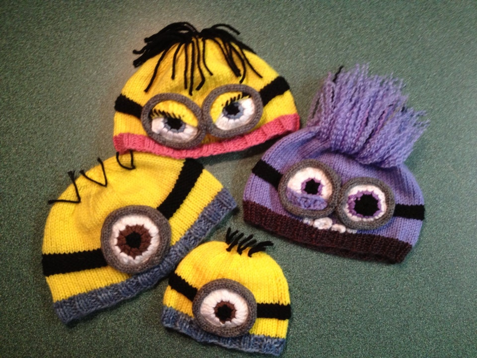 Despicable Me Minion Hat Pattern