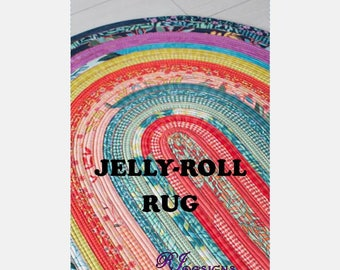 Jelly-Roll Rug Pattern (paper)