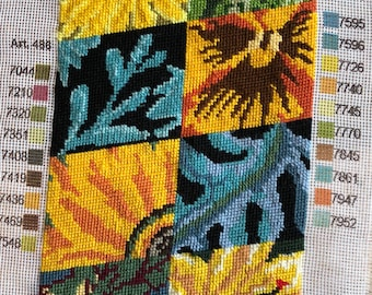 Needlepoint Tapestry - Floral