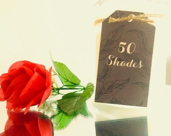 Large Soy Scented acandle - 50Shades