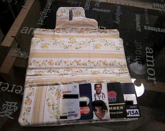 Handmade Trendy Fabric Wallet
