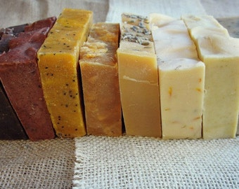 Eight 4.5oz Bars of Old Fashioned All Natural Goat Milk Soap