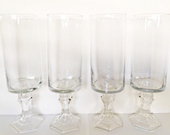 SET OF 4 Wedding Centerpieces, Candle Holders, Flower Vases, Wedding Decor Vases, Baby Shower Decor Vases.