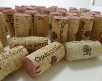Wine Corks Used Lot of 30 Craft Supply Supplies Natural Cork DIY Wedding Display Wedding Supply Name Cardholder Place Holder