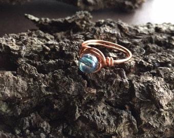 Aqua Aura Ring