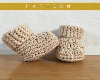 Crochet Booties Pattern/Booties Pattern/Crochet Bootie Pattern/ Baby Booties Pattern