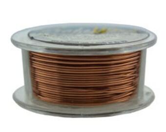 Craft Wire Tarnish Resistant Antique Copper Round Wire 22ga 15yd (WR6722AC) **CLOSEOUT**