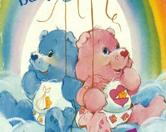 Butterick 341 Baby Hugs Bear and Baby Tugs Bear Plush Care Bear Pattern also Issued as Butterick 6932