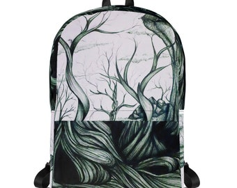 Fantasy landscape Backpack