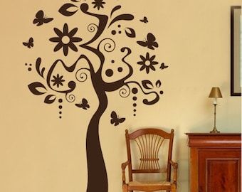 Art Tree -  Wall Decal for Living Room and Interior Decoration,