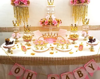 Captivating Princess Baby Shower ...