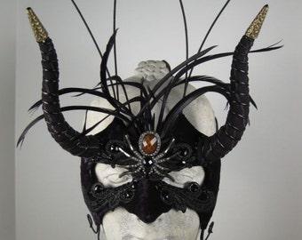 Masquerade Mask Black//Masquerade Ball Mask//Halloween Masquerade Mask//Mardi Gras Masquerade Mask//Mens Masquerade Mask//Mask