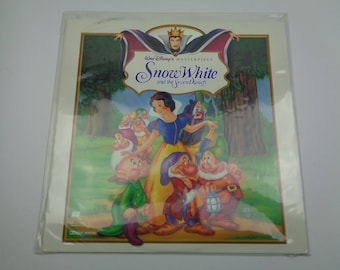 Snow White and the Seven Dwarfs Laserdisc