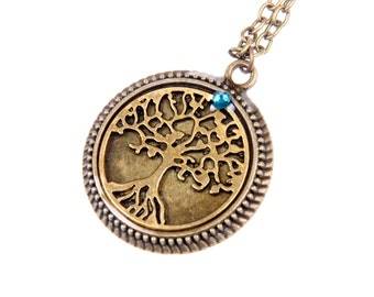 Lucky tree Necklace,  2525C