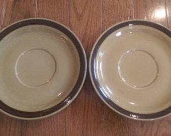 2 La Mesa Stoneware Bread/Side Plates
