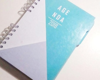 Agenda+tapes setmana vista 2018 Mint