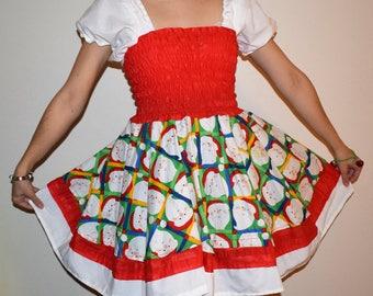 Christmas Dress Size Small Medium  Japanese Fashion Harajuku Decora Party Kei Kawaii