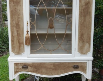 Sophisticated Antique China Cabinet