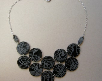 Smoke Signals Bloom Bib Necklace