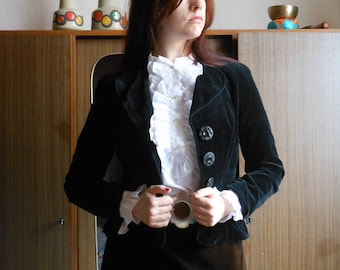 1970s velvet blazer by Betty Barclay