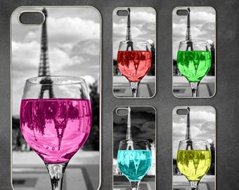 colorful wine glass2 in 1 dual shockproof iphone 8 case, iphone 8 plus, X case, iphone 7 case, 7 plus case, 6 6s case 6 plus case