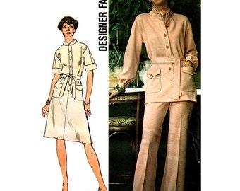 Simplicity Sewing Pattern 6503  Misses' Dress, Top, Pants  Size:  16  Uncut