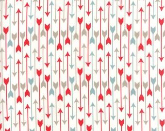 Love You - Valentine Arrows Multi by Sandy Gervais for Moda, 1/2 yard, 17950 12
