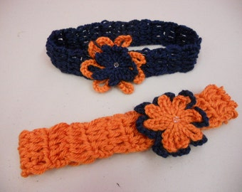 Chicago Bears Crochet Headband