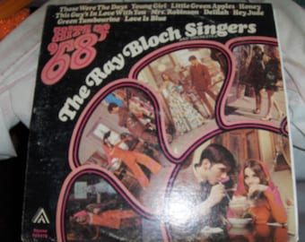 """The Ray Block Singers - """"Hits Of '68"""""""