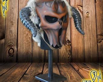 Larp Helmet Demon's Disciple