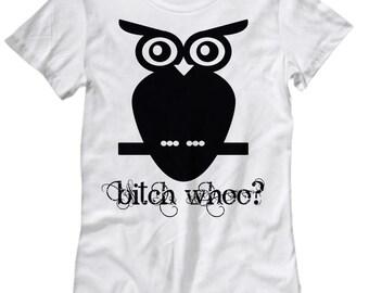 Women's Owl T-Shirt White