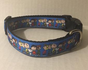 Peanuts Crew Dog Collar