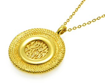 Shema Israel Necklace GOLD Filled 14K  שמע ישראל, jewish jewelry, kabbalah jewelry judaica jewelry