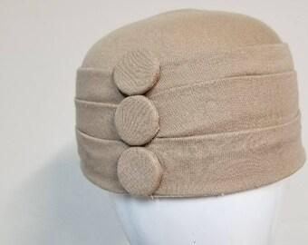 Material Pill Box hat