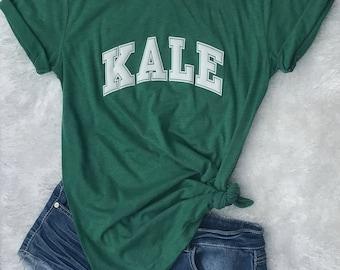 Kale shirt, kale tshirt, Bella triblend tee