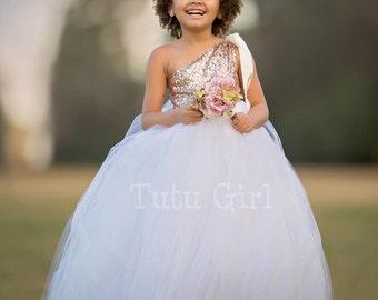 Flower Girl Dress, Tutu Dress, Baby Flower Girl Dress, Girls Dress, Toddler Dress