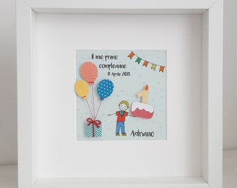 Picture Birthday Balloons Child