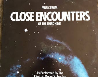 Close Encounters Of The Third Kind Record Album - Music From Close Encounters Of The Third Kind Movie - Electric Moog Orchestra - MUS-8803