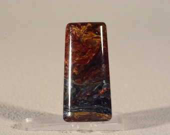 Pietersite Cabochon. Handcrafted USA. Natural Gemstone.