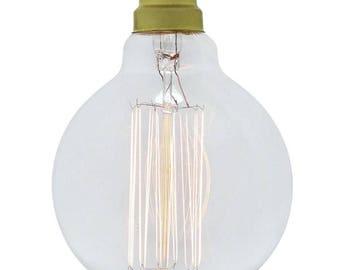 Ampoule à Filament Edison moyen Globe baïonnette 40W 95mm