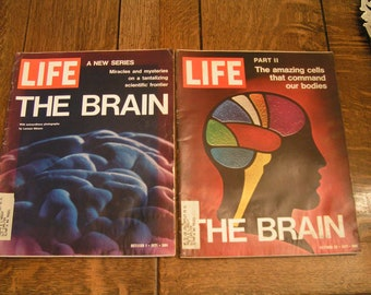 Vintage Life Magazines From 1971---5 of Them