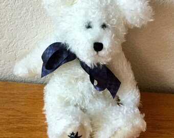 Vintage 1988 Boyds Bear White, Excellent Condition