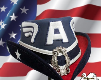 Captain America Inspired Riding Hat