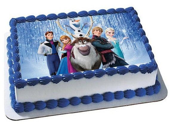 Frozen Cake Topper Frozen Edible Images Frozen Frozen