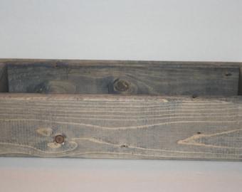 Wood Planter Box, Wood Box Centerpiece, Planter Box, Rustic, Farmhouse, Wood Planter, Box, Wood Centerpiece, Table Centerpiece