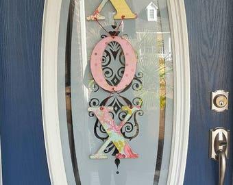 XOX Wall and/or Door Hanger
