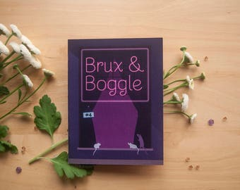 Brux & Boggle --- issue 4